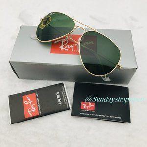Ray-Ban 3025 Classic Aviator Sunglasses 58mm